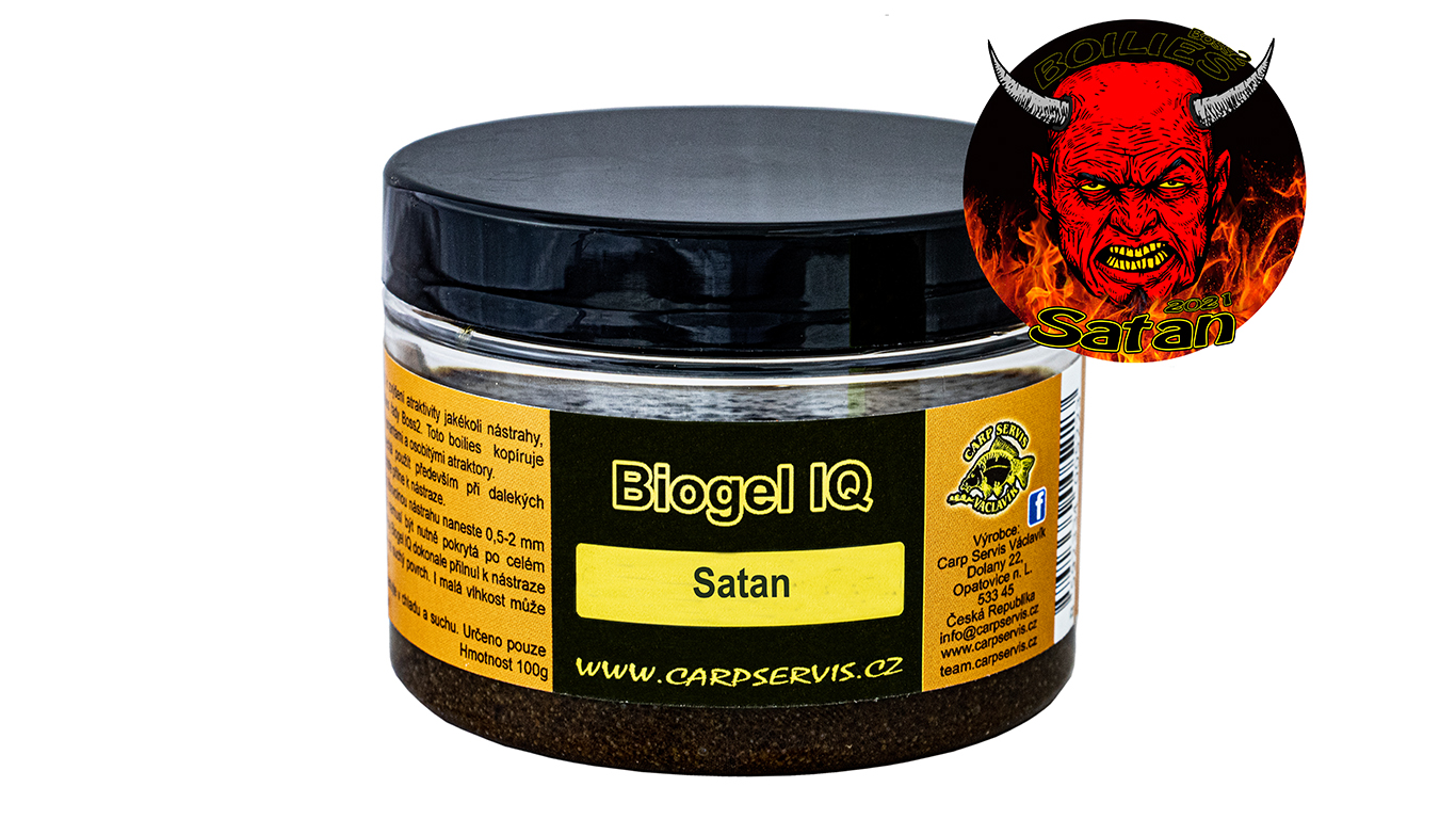 Carp Servis Václavík Biogel IQ - 100 g/Satan