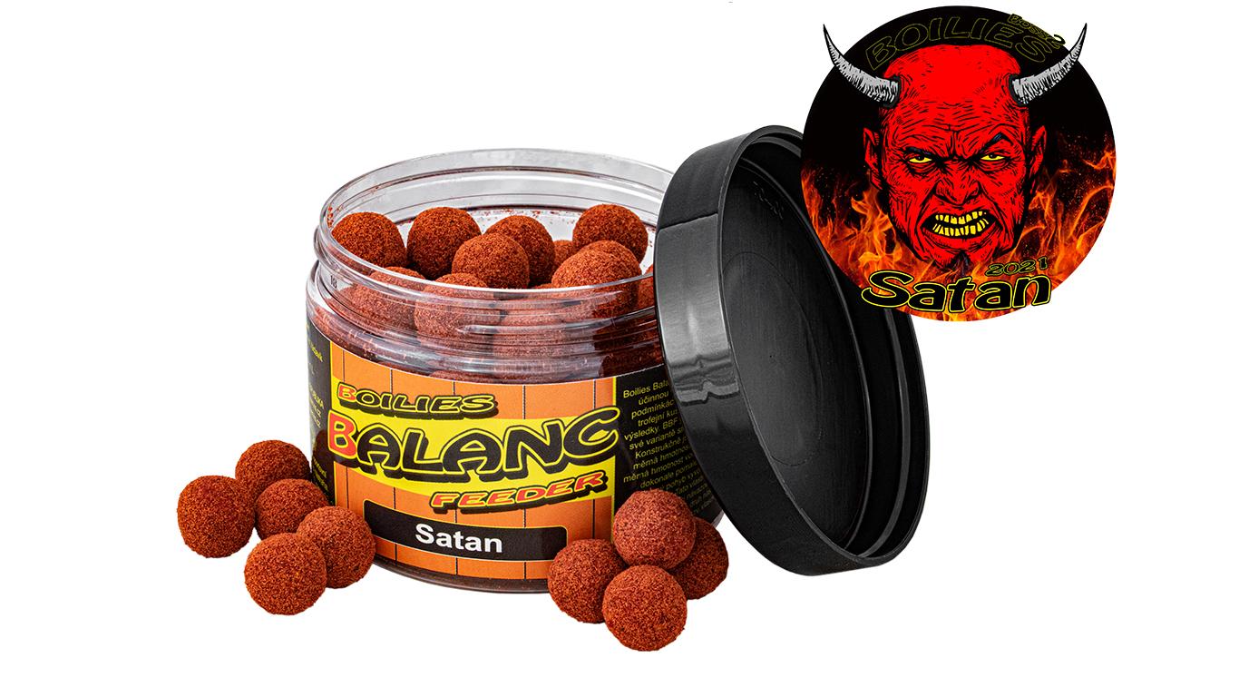 Carp Servis Václavík Boilies Balanc Feeder - 80 g/12 mm/Satan