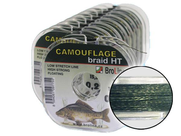 BroLine s.r.o. Camouflage Braid - 10 m/0,20 mm/13,7 kg
