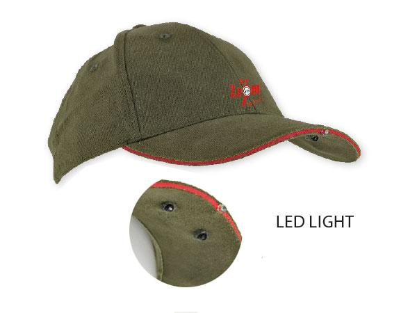 Carp Zoom Čepice kšiltová Fishing Cap 1+2 LED