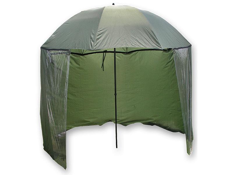 Carp Zoom Deštník s bočnicí (model 2012) - 250 cm/Green