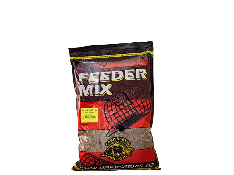 Carp Servis Václavík Feeder Mix - 1 kg/Černý kapr (černá)