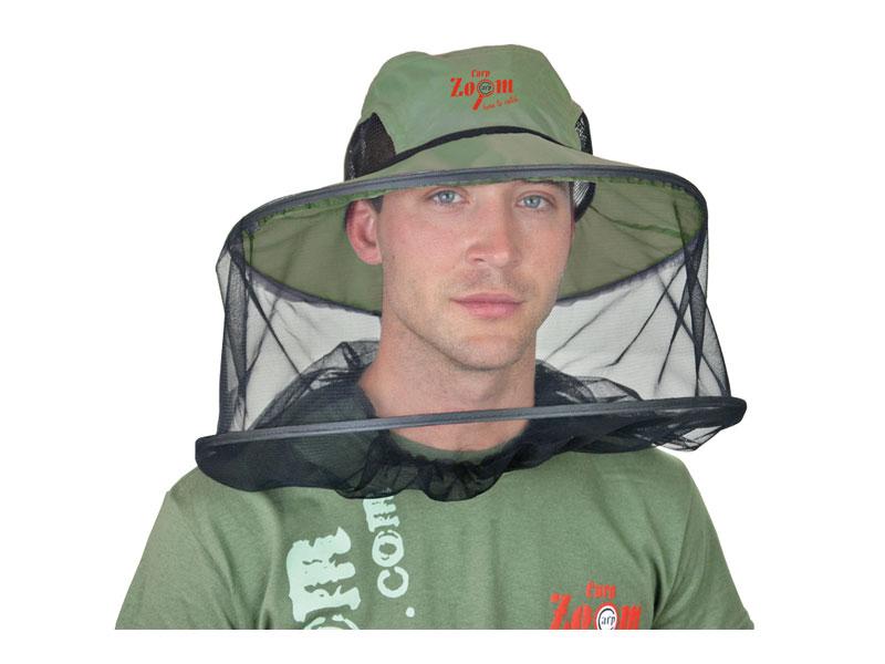 Carp Zoom Klobouk s moskytiérou