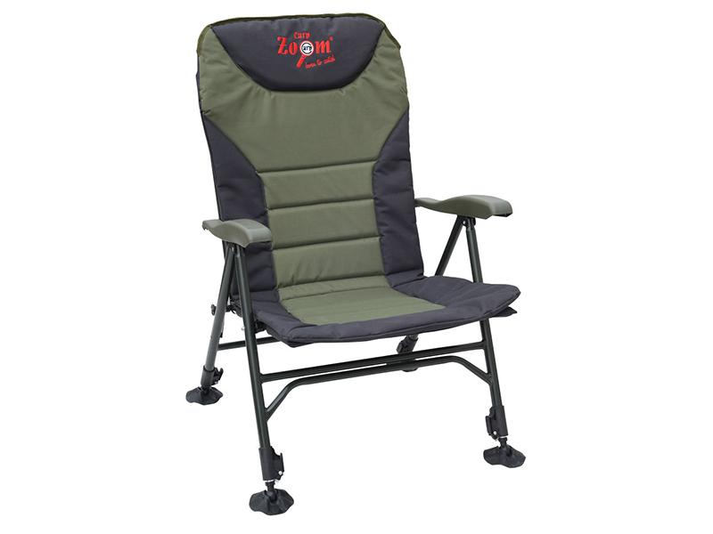 Carp Zoom Křeslo Recliner Comfort s područkami