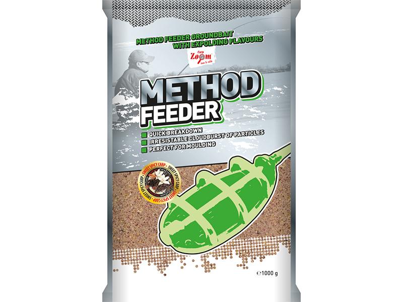 Carp Zoom Method Feeder Groundbaits - 1 kg/Sladké koření-Kapr