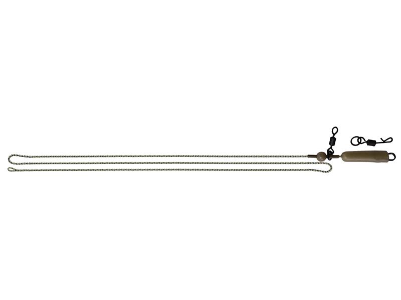 Carp Zoom Montáž Helicopter s olověnkou - 75 cm/3 ks