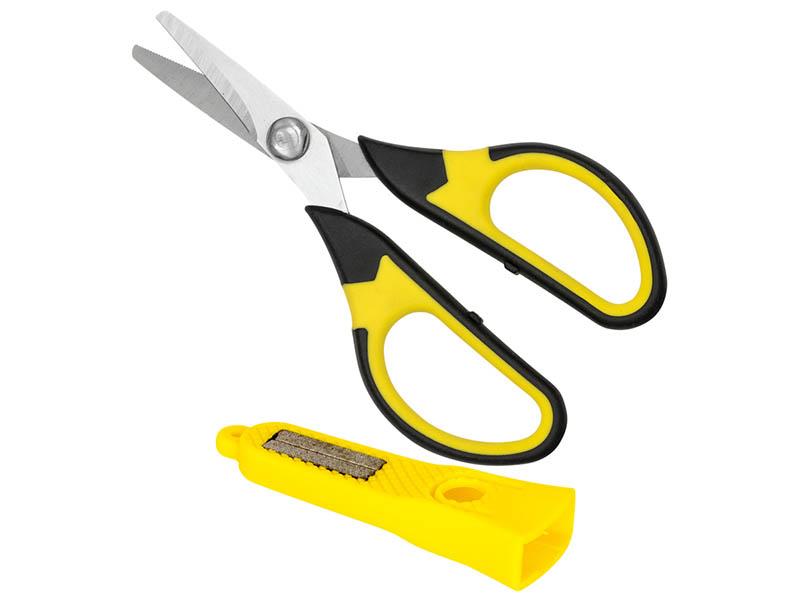 Carp Zoom Nůžky s pouzdrem a brouskem - 13 cm