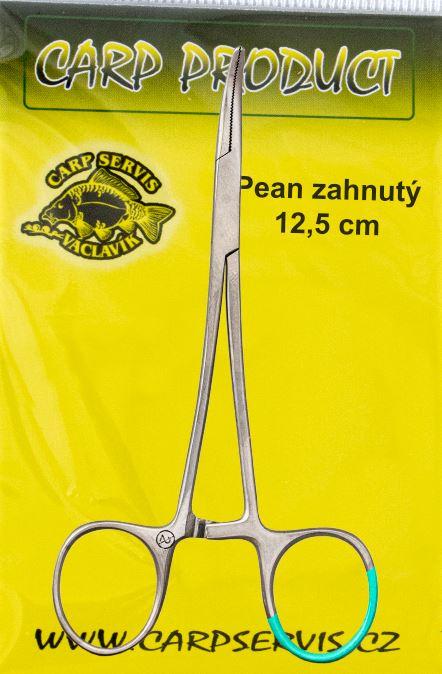 Carp Servis Václavík Pean zahnutý - 12,5 cm