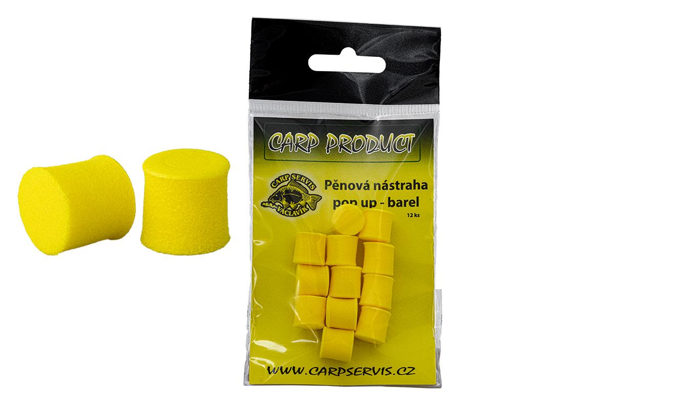 Carp Servis Václavík Pěnová nástraha BAREL/12 mm/žlutá