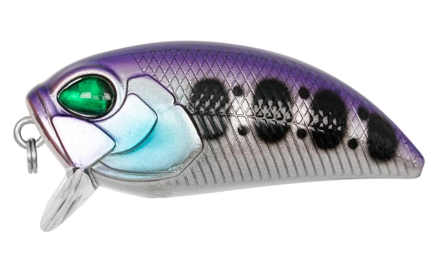 Carp Zoom Wobler Angry Crank - 5 cm/ 8,0 g/plovoucí/fialová-bílá-černá